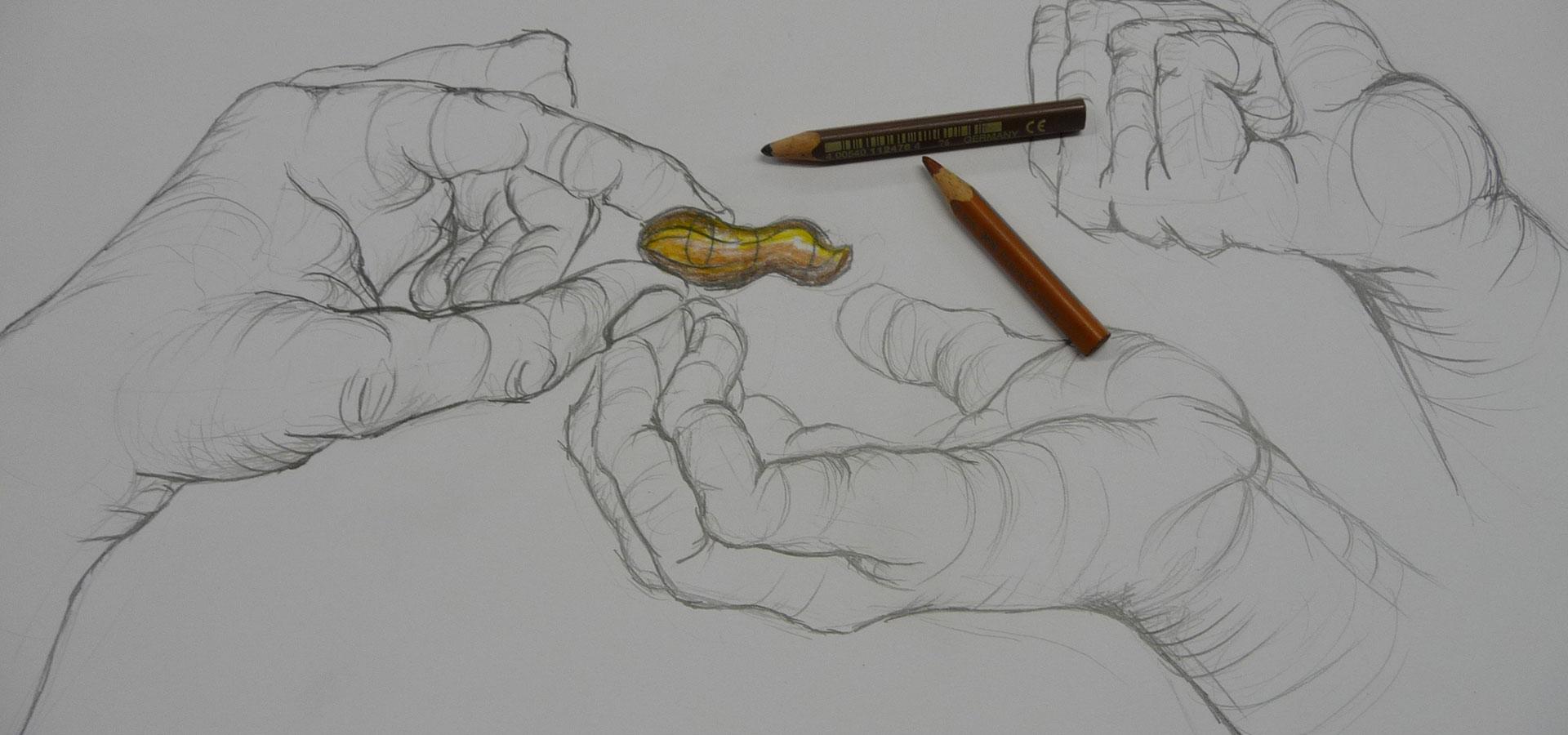 Handstudie-kurse-zeichnen-schoenaich
